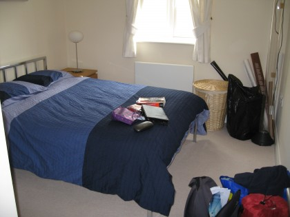 Before (when I was moving in - please excuse the mess!)